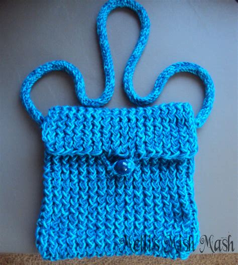 how to make a purse with loom knitted messenger bag melli s mish mash