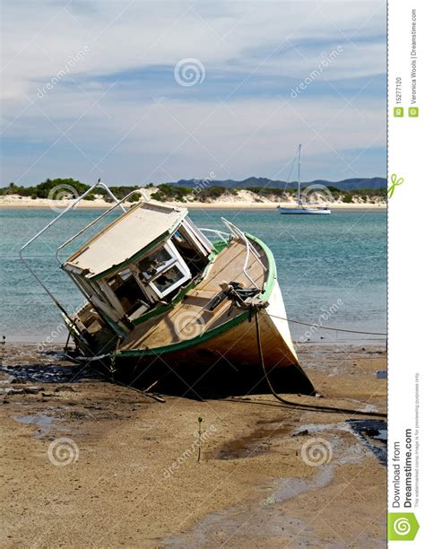 old boat wrecks old boat wreck stock photo image of holiday queensland