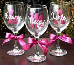 Personalized Wine Glasses 25 Best Ideas About Personalized Wine Glasses On