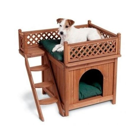 dog bed houses small dog house wood indoor outdoor cat bed kennel shelter pet steps wooden home ebay