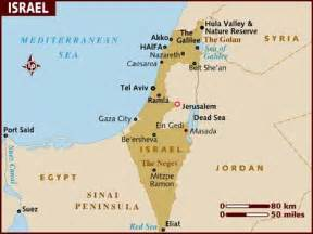 Map Of Middle East Israel by Map Of Israel