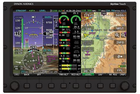 Monitor Lcd Skyview dynon avionics autopilot