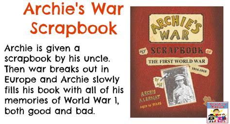 archies war world war 1 writing assignment