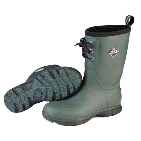 arctic muck boots muck arctic excursion lace mid waterproof insulated rubber