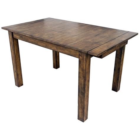 Butterfly Kitchen Table And Chairs A America Mariposa Extendable Butterfly Dining Table In Rustic Whiskey Mrprw6200