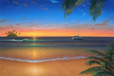 Island For Kitchen Home Depot romantic beach wall mural wallpaper mural ideas 13503