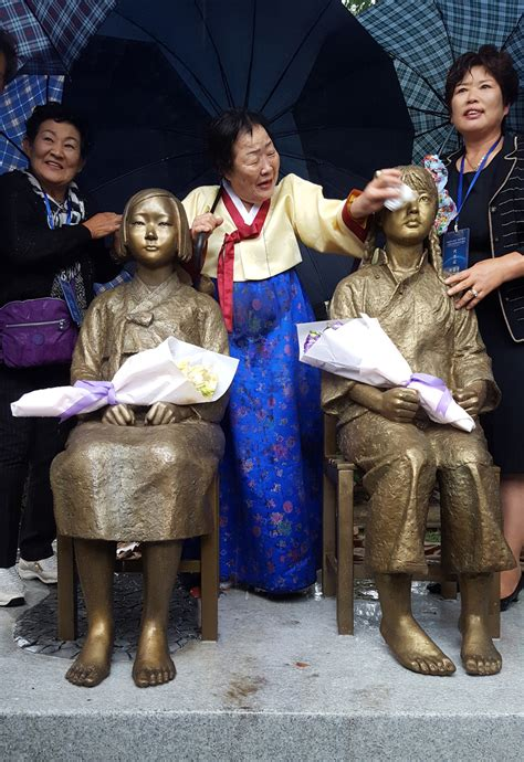 china comfort women photo first comfort women statue in china