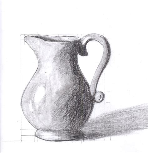 Drawing Of Vase by Vase Study By Saronicle On Deviantart