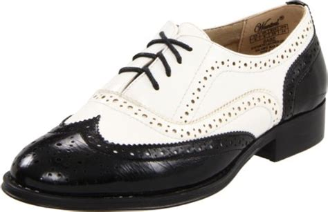 wanted shoes s oxford black white 7 5 m us