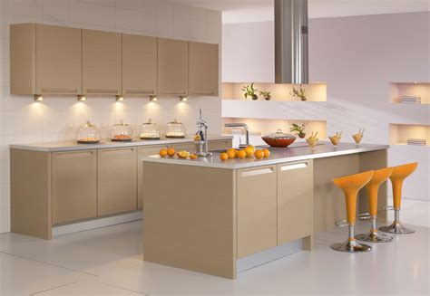 Charming Modern Kitchen Cabinet Doors With Brown Wood Modern Kitchen Cabinet Materials