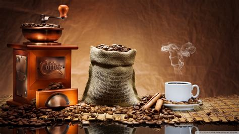 coffee home wallpaper coffee beans grinder wallpaper 1920x1080 24078