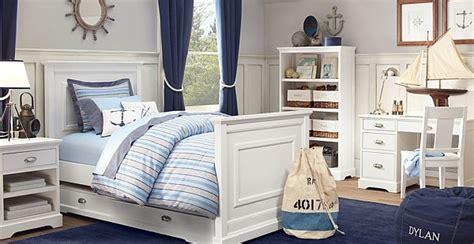 Anchor Themed Bedroom Ideas Maritimes Schlafzimmer Schlafzimmer In Wei 223 Und Blau