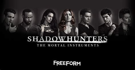 Shadows Hunters shadowhunters freeform