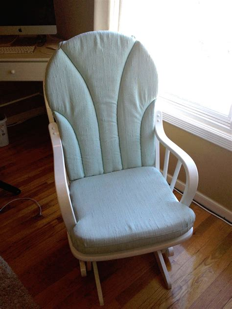 How To Make A Rocking Chair Cover by Blending Beautiful 187 Before And After Rocking Chair