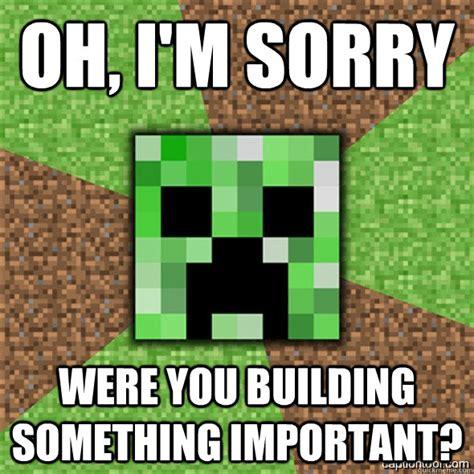 Funny Minecraft Memes - minecraft creeper memes quickmeme
