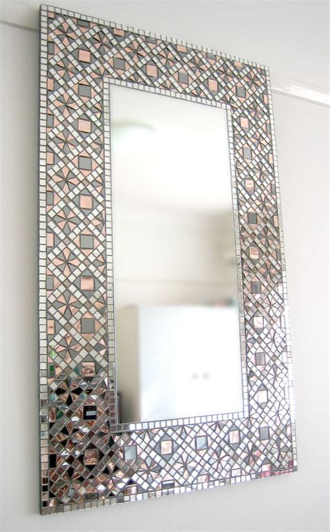 bathroom mirror mosaic frame 25 best ideas about mosaic mirrors on pinterest