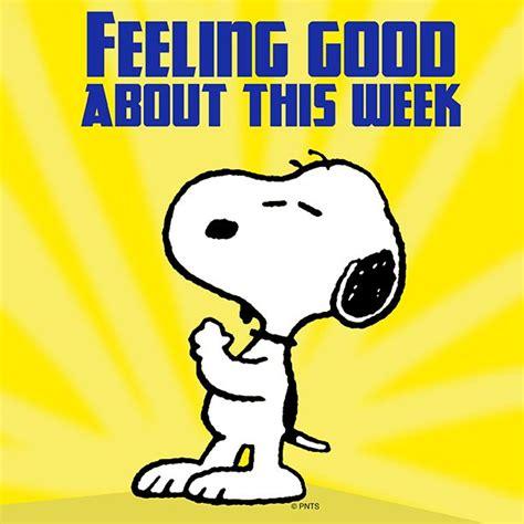 best news of the week feeling about this week snoopy days week