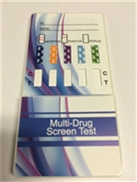 Valium Shelf by 10 Panel Test Dip Card Generic Doa 1104 2104 3104