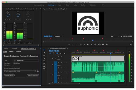 adobe premiere pro record audio auphonic add ons for audition and premiere pro creative
