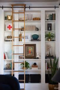 billy bookcase hack laura s living room ikea billy bookshelves hack the