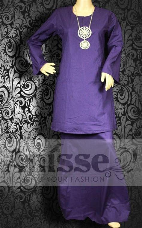 Baju Kurung Pahang Cotton Plain 12 best kurung plain fashion images on