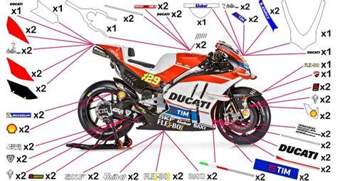 Ducati Moto Gp Aufkleber by Stickers Ducati Motogp 2016 959 1299 Panigale 2015 2018