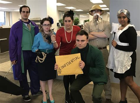 L 862 Office Costume characters from clue compete triage consulting office photo glassdoor co in