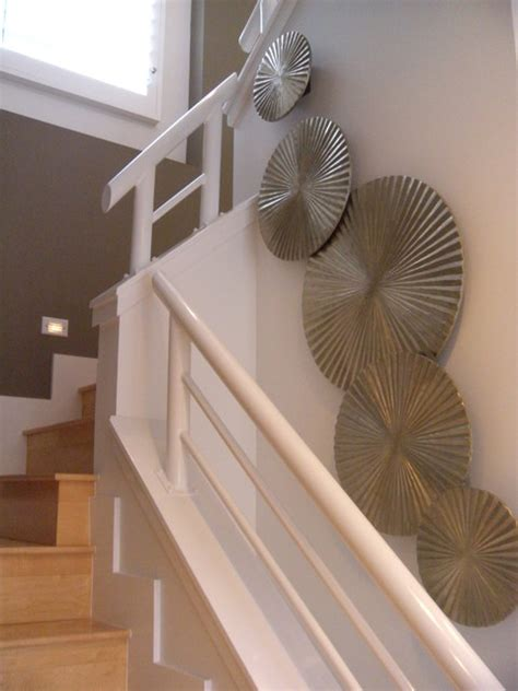Staircase & Wall Decor Modern Staircase Los Angeles by dRichards Interiors