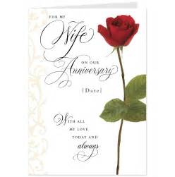 print wedding anniversary cards for