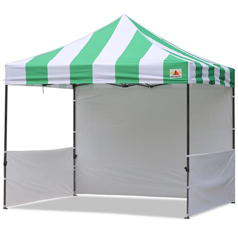 10x10 Canopy Abccanopy Carnival 10x10 Green With White Walls Pop Up