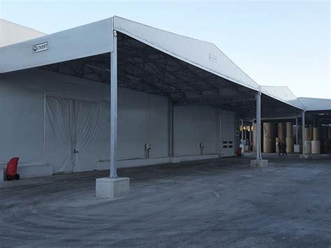 tettoie in pvc tettoie pvc industriali tettoie retrattili autoportanti