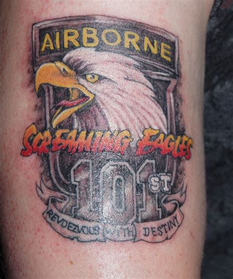 airborne tattoo designs screaming eagles tattoos by joe byron