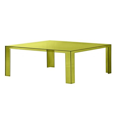 plastic coffee table kartell invisible coffee table plastic coffee tables