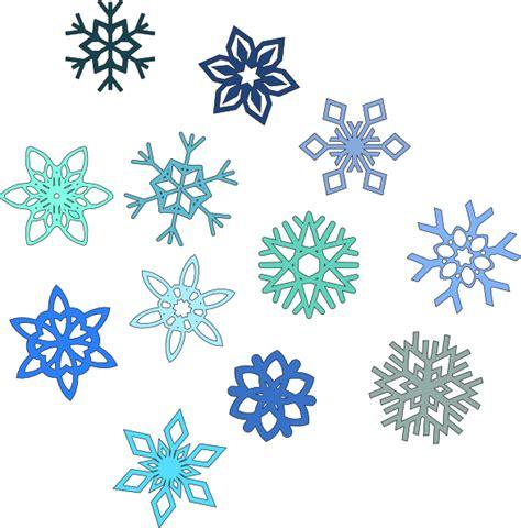 snow pattern png blue snowflakes clip art at clker com vector clip art