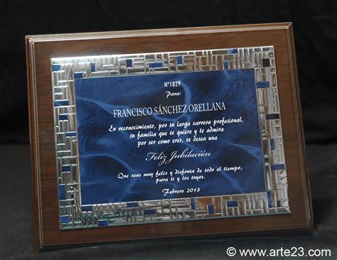 dedicatorias para placas de reconocimiento para un lider placas conmemorativas placas homenajes placas de