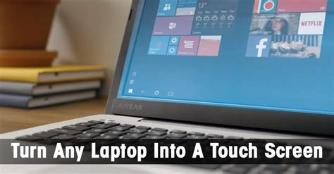 is it possible to turn window into a door how to turn your laptop into touch screen doy news
