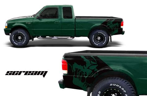 Ford Ranger Bed Ford Ranger Vinyl Graphics For Bed Fender