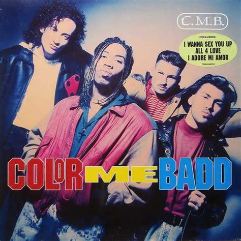 color me badd all 4 color me badd c m b vinyl lp album discogs