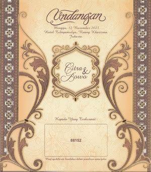 Undangan Pernikahan Terbaru Erba 9910 Cover Motif Motif Flora undangan pernikahan motif wayang erba 88152 putra wilis