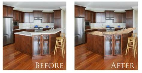 Countertop Paint Before And After by Granite Painted Countertops Beautiful She Also Painted