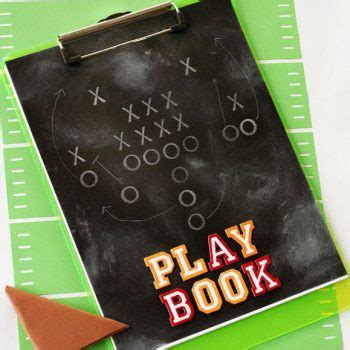 the superpower playbook books football crafts for