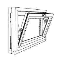 duo corp 3214comp hopper basement windows 32 quot x 14