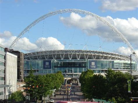 premier inn wembley the view from our window wembley stadium at