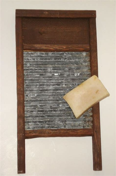 Laundry Washboard vintage small wooden washboard primitive farmhouse