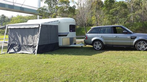 horse float awning australia wide annexes gold coast awnings for horse floats