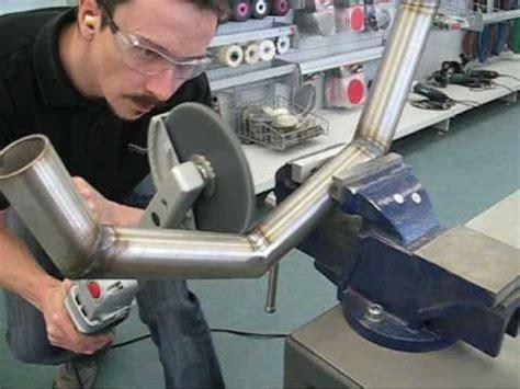 Youtube Aluminium Polieren by Superschnell Metallrohre Schleifen Satinieren Polieren
