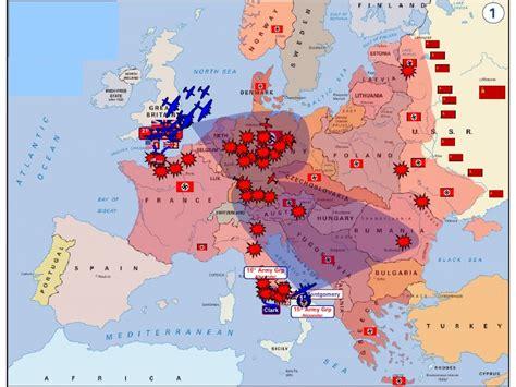 ww2 map map of world war ii