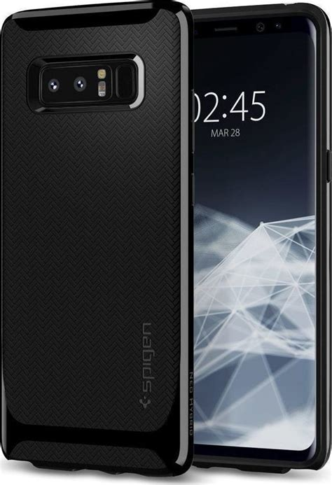 Spigen Neo Hybrid For Galaxy Note 8 Shiny Black Berkualitas spigen neo hybrid shiny black galaxy note 8 skroutz gr