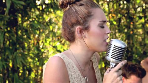 backyard session miley cyrus miley cyrus the backyard sessions jolene youtube