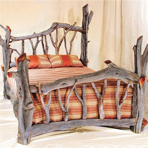 how to make a log bed 17 best images about juniper furniture on pinterest log